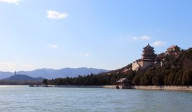 The Summer Palace, Beijing. The view of Summer Palace in Beijing, China. China`s existing largest and best preserved imperial garden Stock Images
