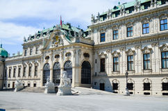 Summer palace Belvedere in Vienna Royalty Free Stock Photography