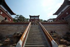 Summer palace of china Royalty Free Stock Photography