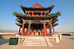 Summer Palace Chineses Pavilion. The Summer Palace is  the most famous  emperor garden in china Stock Photography
