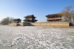 Summer Palace Chineses Pavilion. The Summer Palace is  the most famous  emperor garden in china Stock Images