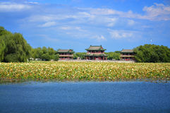 Summer Palace Chineses Pavilion Royalty Free Stock Images