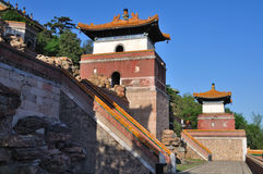 Summer Palace-Four Big States. The Summer Palace is  the most famous  emperor garden in china. four big states in the Longevity Hill Central, is a Tibetan-style Royalty Free Stock Photos