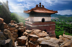 Summer Palace-Four Big States. The Summer Palace is  the most famous  emperor garden in china. four big states in the Longevity Hill Central, is a Tibetan-style Stock Image