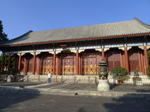 Summer palace,Hall of Benevolence and Longevity Stock Photos