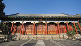 Summer palace,Hall of Benevolence and Longevity Royalty Free Stock Photo