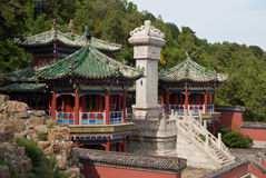 The Summer Palace. Home of the Emperor, China's Summer Palace Royalty Free Stock Photos