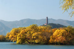 Summer Palace In Autumn Royalty Free Stock Photo