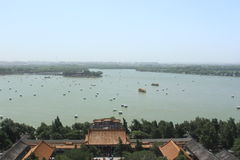 The Summer Palace. Kunming lake in the Summer Palace Stock Image