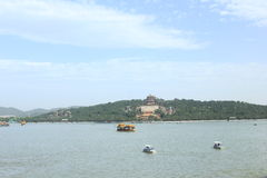The Summer Palace. Kunming lake in the Summer Palace Stock Images