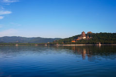 Summer Palace. Kunming lake in Summer Palace, Beijing Stock Photography