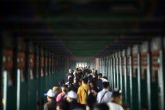 Summer Palace long corridor Royalty Free Stock Photos