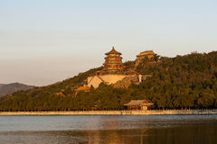 Summer Palace in the morning Royalty Free Stock Image