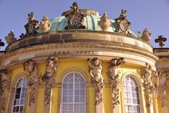 Summer palace in Potsdam Stock Photography