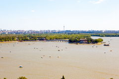 Summer Palace scene Royalty Free Stock Photography