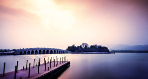 Summer Palace Seventeen Arch Bridge Royalty Free Stock Image