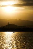 Summer Palace. Sunset in Summer Palace, Beijing Stock Images