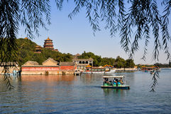 The Summer Palace in sunshine Royalty Free Stock Images