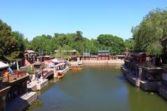 The Summer Palace, suzhou street Royalty Free Stock Image
