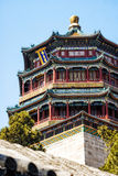 Summer Palace, Tower of Buddhist Incense Stock Images