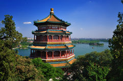 Summer Palace- Tower of Buddhist Incense(foxiangge Stock Image