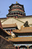 Summer Palace- Tower of Buddhist Incense(foxiangge Royalty Free Stock Images