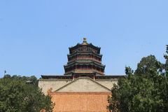 Summer Palace- Tower of Buddhist Incense(foxiangge) Stock Images
