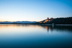 Summer Palace, Tower of Buddhist Incense Night Stock Photography
