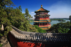 Summer Palace- Tower Of Buddhist Incense(foxiangge Royalty Free Stock Image