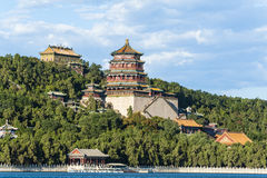 Summer Palace under the sunshine Stock Image