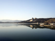 Summer palace. In a warm winter Royalty Free Stock Photos