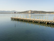 Summer palace. In a warm winter Stock Photography