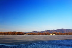 Summer palace winter Royalty Free Stock Images
