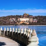 Summer Palace in Winter royalty free stock photos