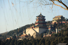 The Summer Palace in winter Stock Images