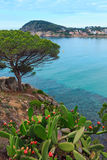 Summer Palamos coast , Palamos, Spain. Stock Photography