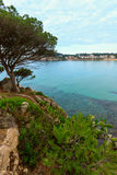 Summer Palamos coast, Spain. Royalty Free Stock Photo