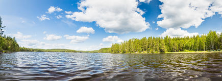 Summer Panorama Royalty Free Stock Images