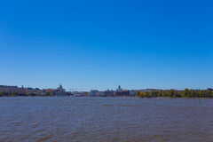 Summer panorama of Helsinki, Finland Royalty Free Stock Image