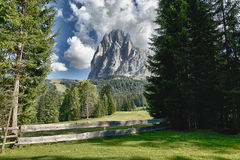 Summer panorama of the Italian mountains Royalty Free Stock Photography