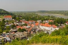 Summer panorama of Kazimierz Dolny. Stock Images