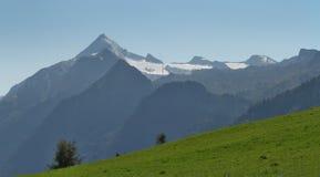 Summer panorama of Kitzsteinhorn Stock Photos
