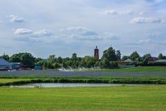 Summer panorama Stock Image