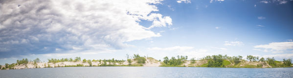 Summer panorama Royalty Free Stock Photo