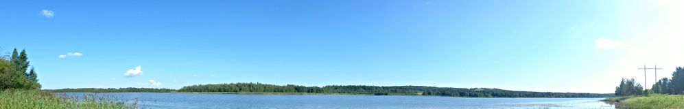Summer panorama. Summer, panorama, view Stock Image