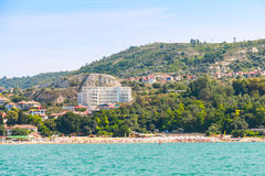 Summer panoramic landscape of Balchik Royalty Free Stock Photos