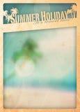 Summer paradise background Stock Images