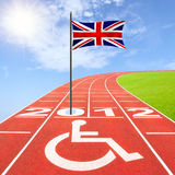 Summer Paralympics 2012 Royalty Free Stock Image