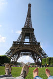 Summer in Paris royalty free stock photos