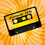 Summer Party Background Stock Images